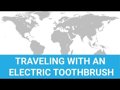 Using An Electric Toothbrush Abroad/Internationally