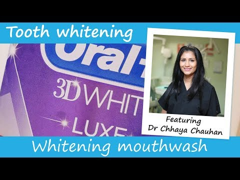 Do whitening mouthwashes work?