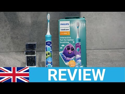 Philips Sonicare For Kids Connected (HX6322/04) Electric Toothbrush Review - UK