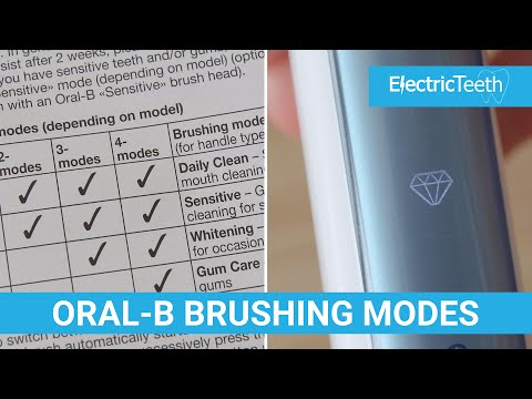 Oral-B Cleaning/Brushing Modes Explained