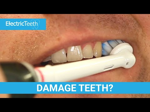 Do Electric Toothbrushes Damage Teeth