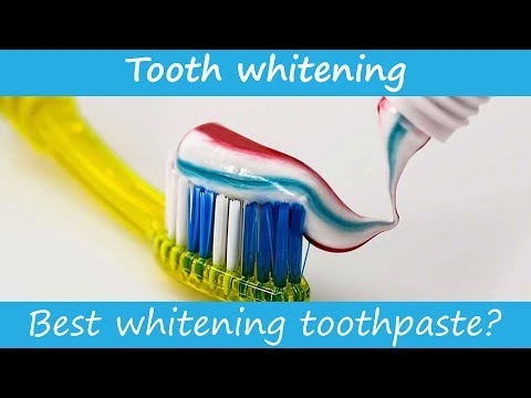 What's the best whitening toothpaste?