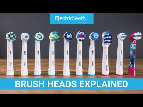 Oral-B Electric Toothbrush Heads Explained 2020