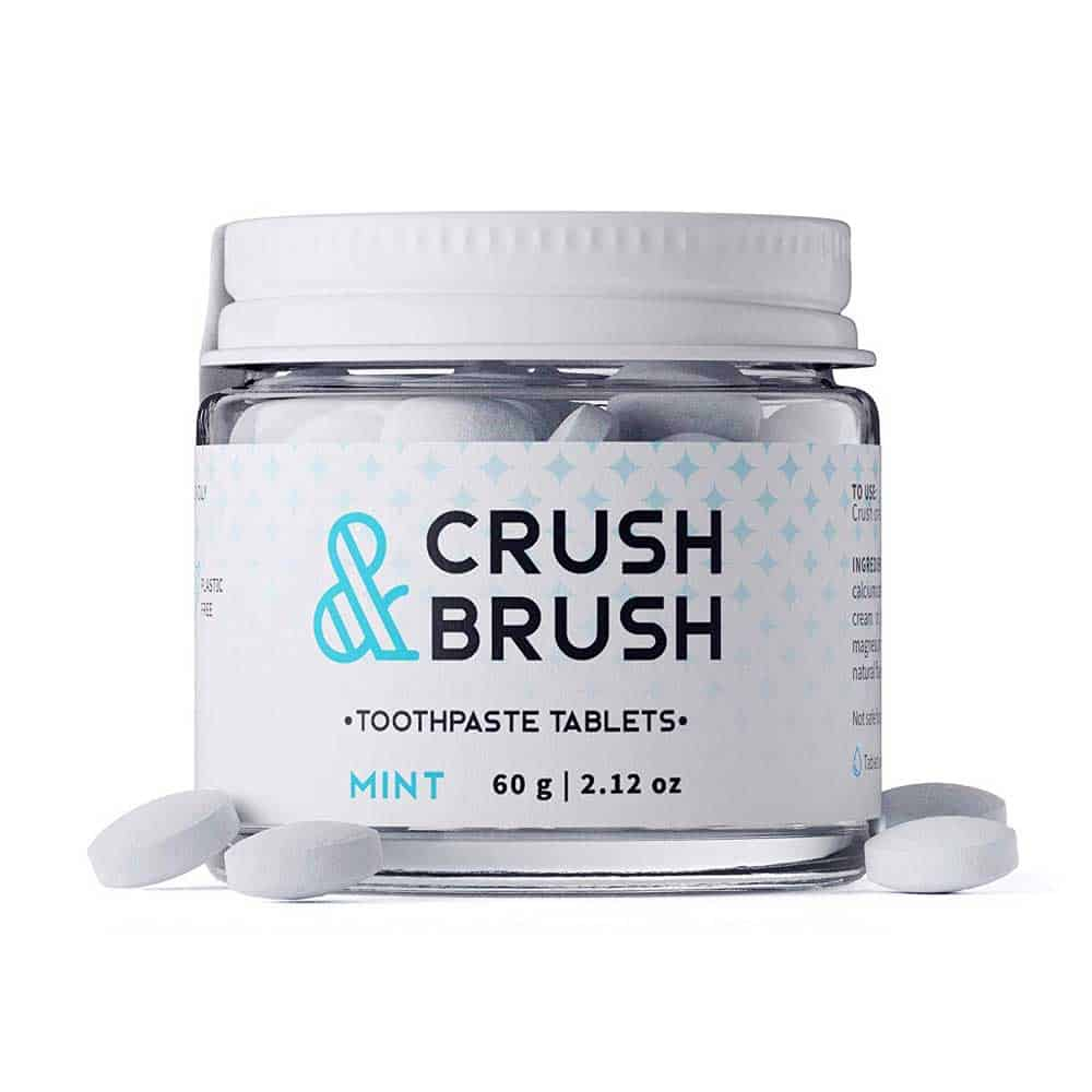 Crush and Brush Toothpaste Tablets