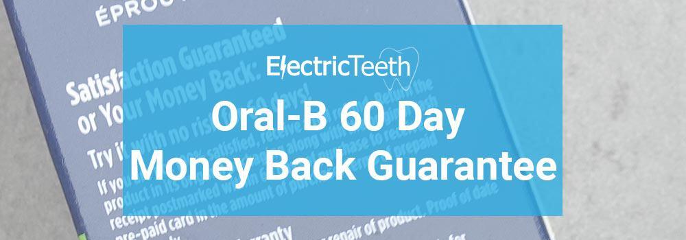 Oral-B Money Back Guarantee