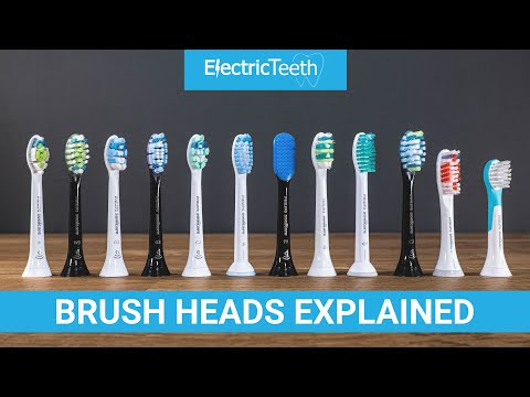Sonicare Electric Toothbrush Heads Explained 2021