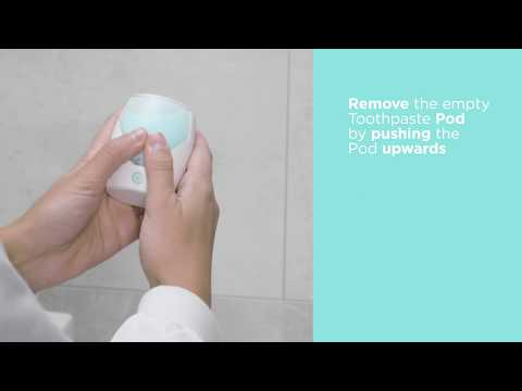 How to change the Amabrush® Toothpaste Pod