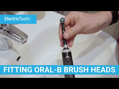 How To Fit & Remove Oral-B Brush Heads