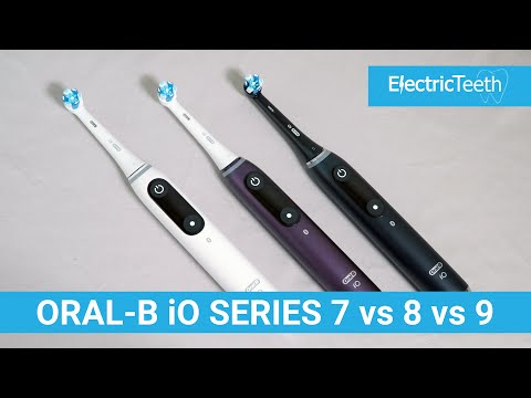Oral-B iO Series 7 vs 8 vs 9