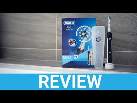 Oral-B Pro 2 2500 Electric Toothbrush Review