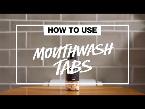 How To Use: Mouthwash Tabs | #LushLabs