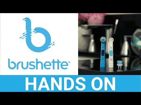 Brushette Oral-B Toothbrush Heads Hands On