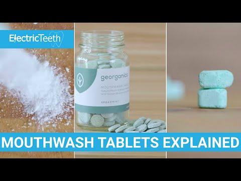 Mouthwash Tablets (Zero Waste Mouthwash) Explained