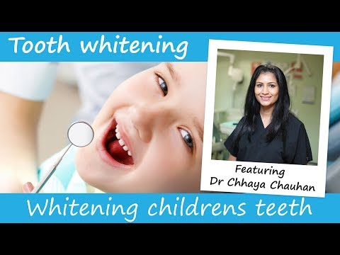 Can children have teeth whitening?