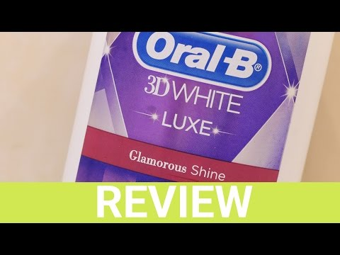 Oral-B 3D White Luxe Glamorous Shine Mouthwash Review