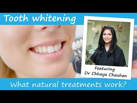 Do natural / at-home teeth whitening methods work and are they safe to try?