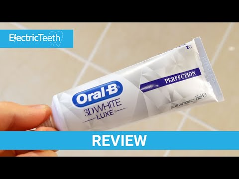 Oral-B 3D White Luxe Perfection Toothpaste Review