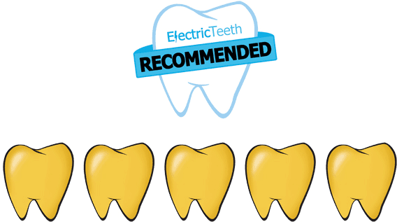 Electric Teeth Five Stars Recommended Toothbrush