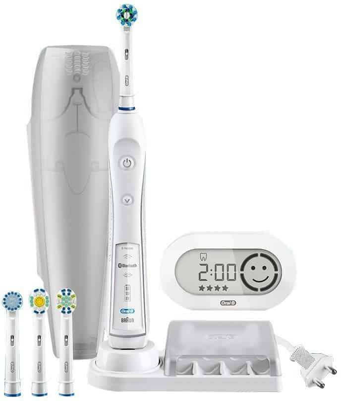 oral b triumph 5000 vs pro 6000 electric teeth. Black Bedroom Furniture Sets. Home Design Ideas