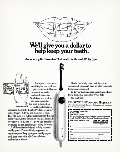 Broxodent Electric Toothbrush Advert