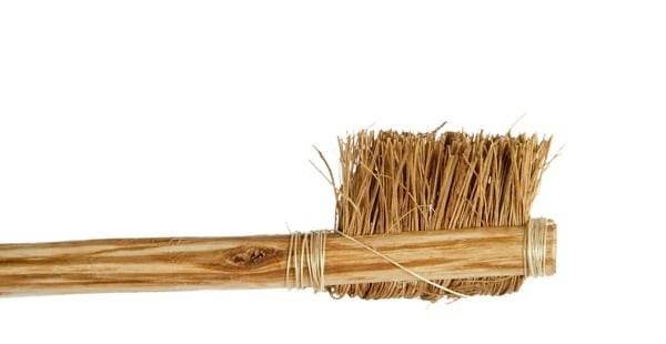 Ancient Toothbrush - 700AD - First bristled brush