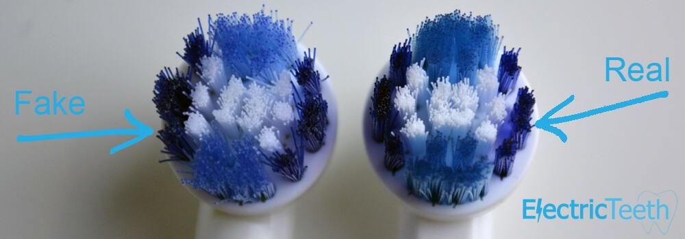 Oral-B Fake Brush Heads 8