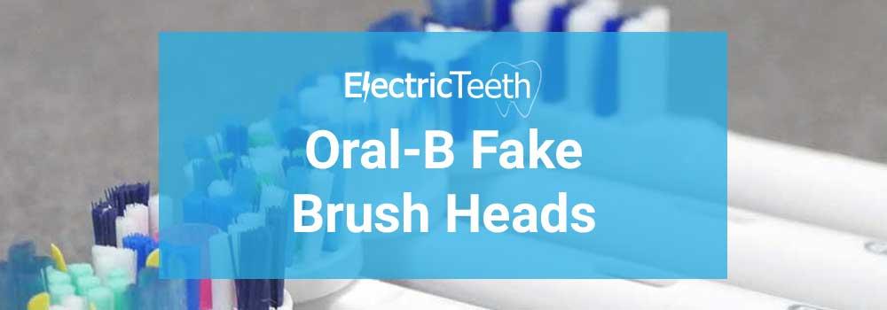 Oral-B Fake Brush Heads 1