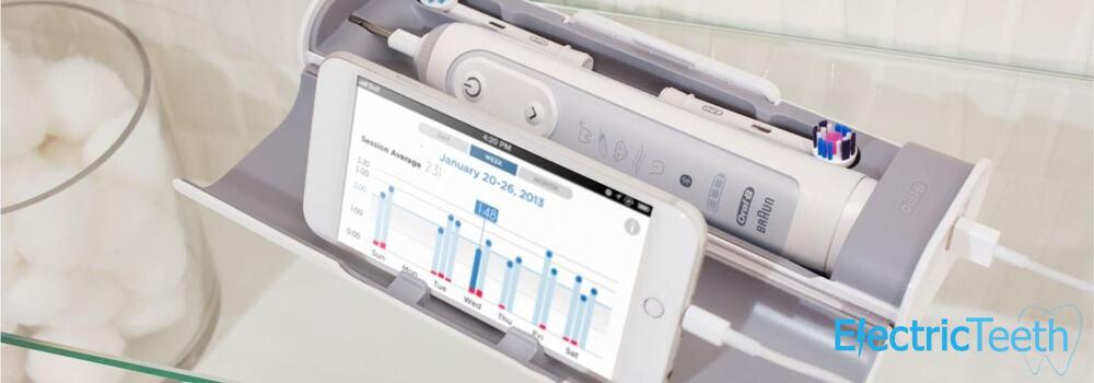 Genius 9000 and smartphone in travel case