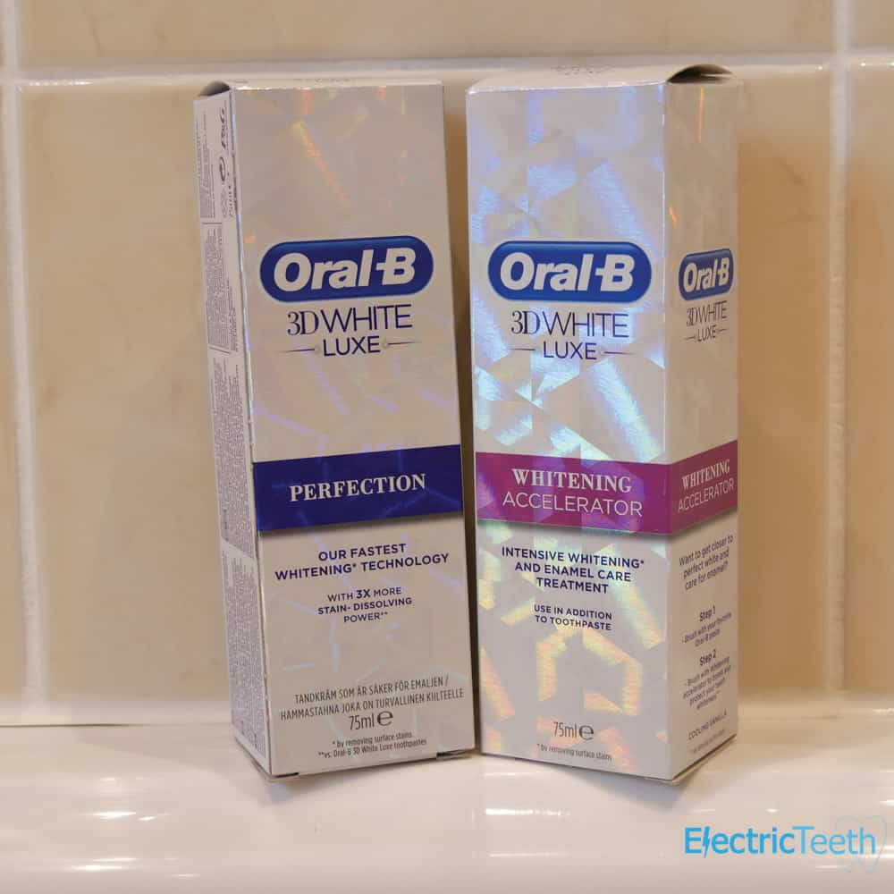 Oral-B 3D White Luxe Accelerator Toothpaste Review 2