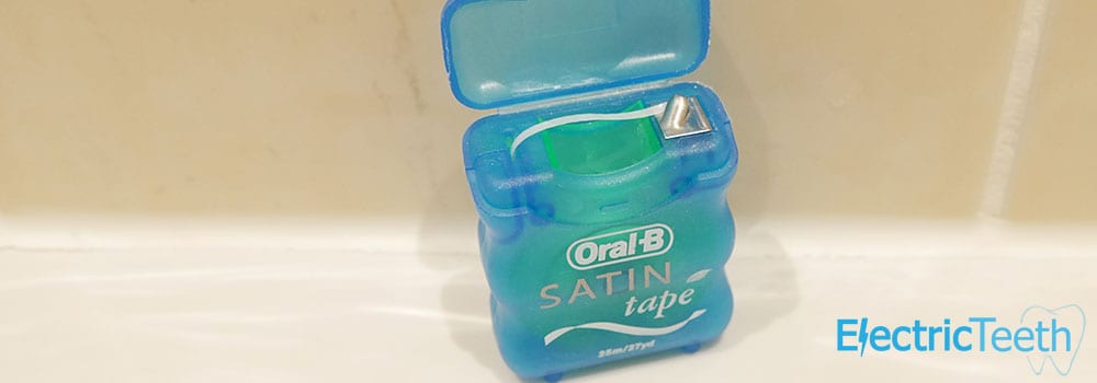 Oral-B Satin Tape Floss Review 1