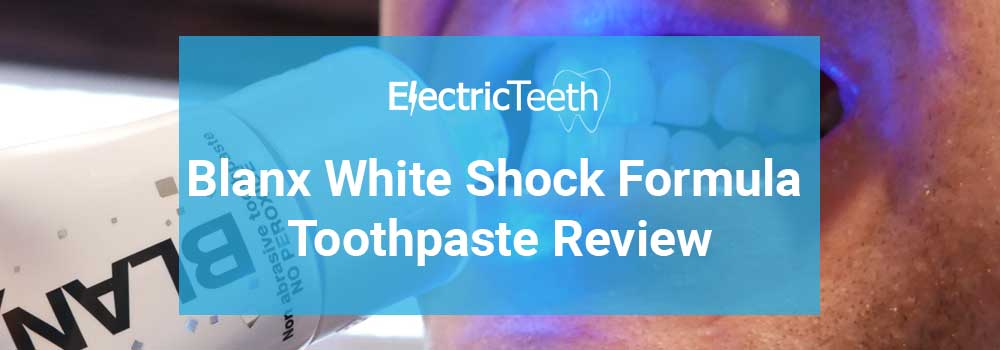 Blanx White Shock Toothpaste Review