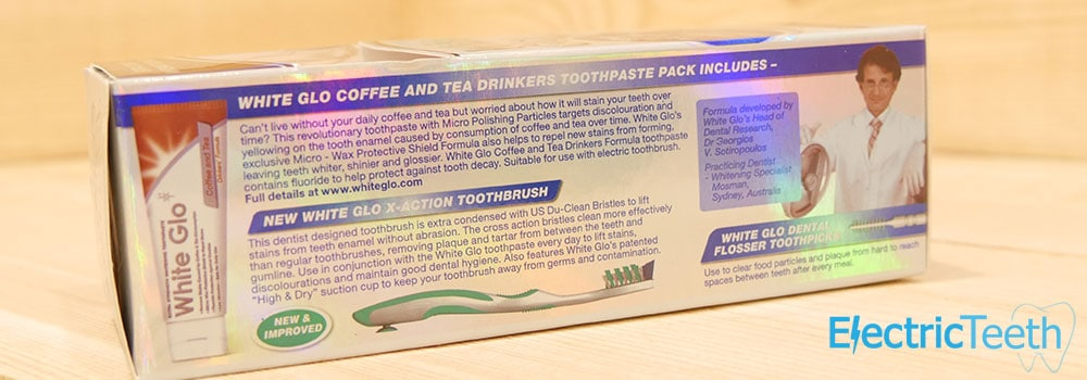 White Glo Coffee & Tea Drinkers Formula Toothpaste Review 5