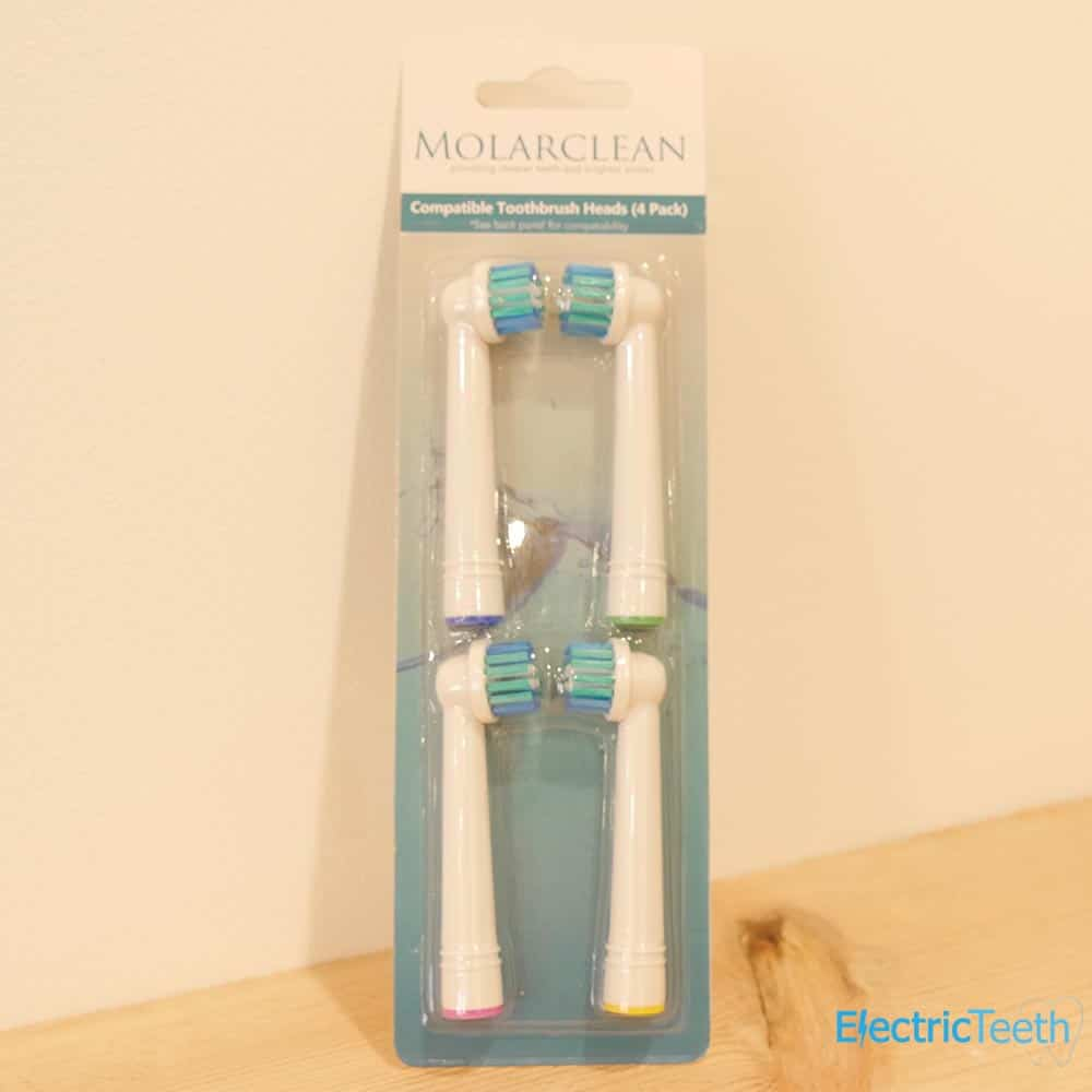 Molarclean Replacement Brush Heads Review 1