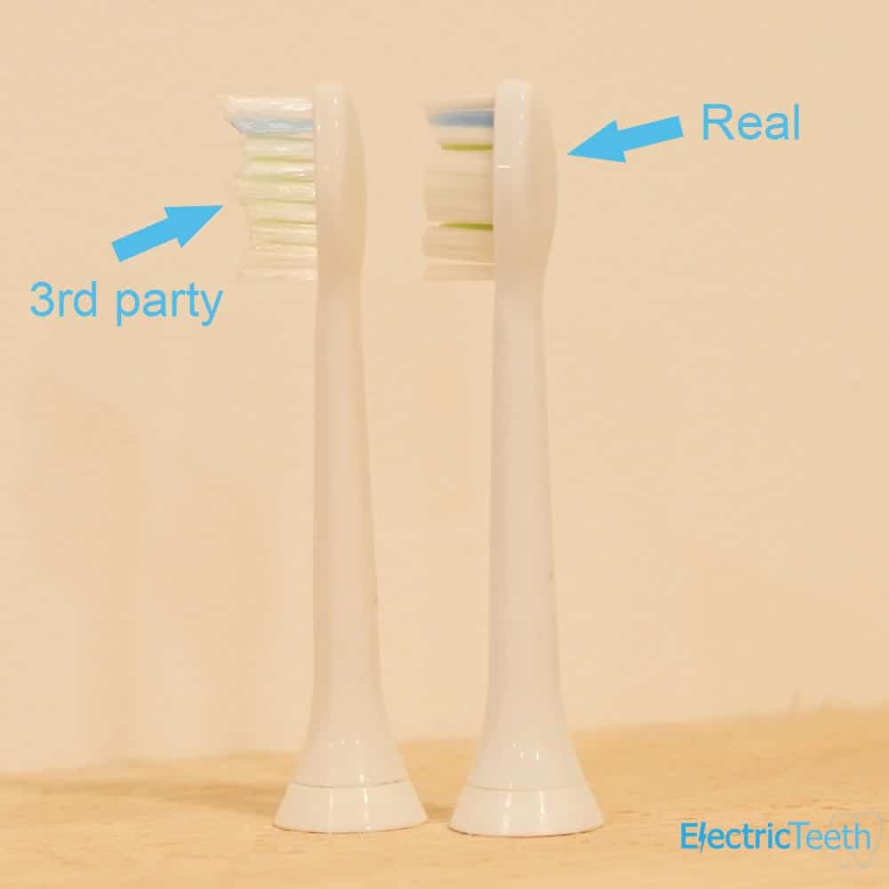 Sonicare Fake Brush Heads 8