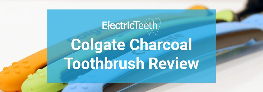 Colgate Slim Charcoal Toothbrush Review 1