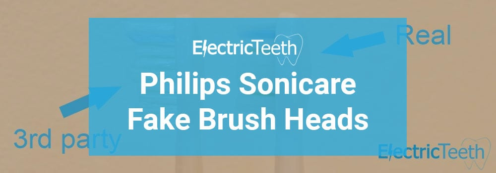 Sonicare Fake Brush Heads