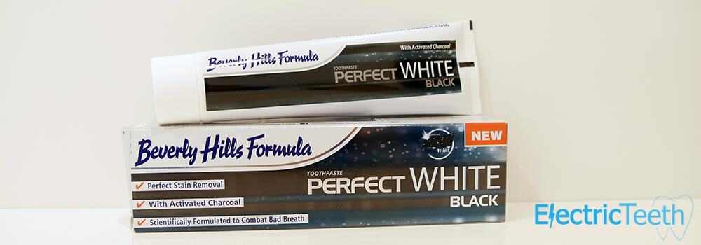 Beverly Hills Formula Perfect White Black Toothpaste Review 4