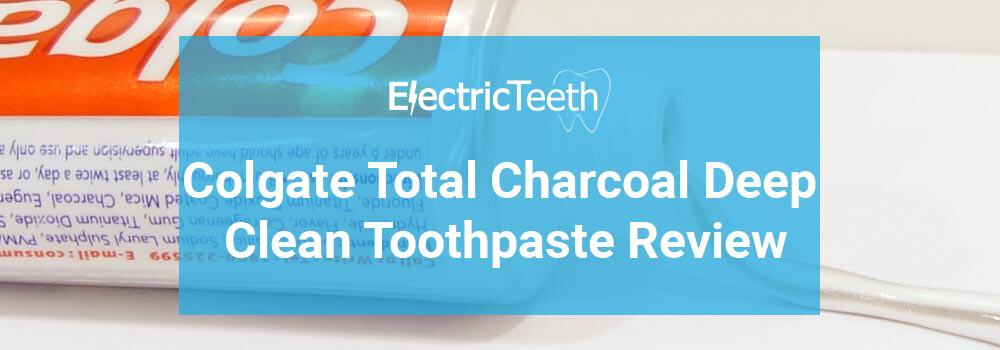 Colgate Total Charcoal Deep Clean Toothpaste Review 1