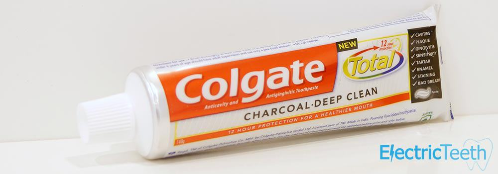 Colgate Total Charcoal Deep Clean Toothpaste Review 7