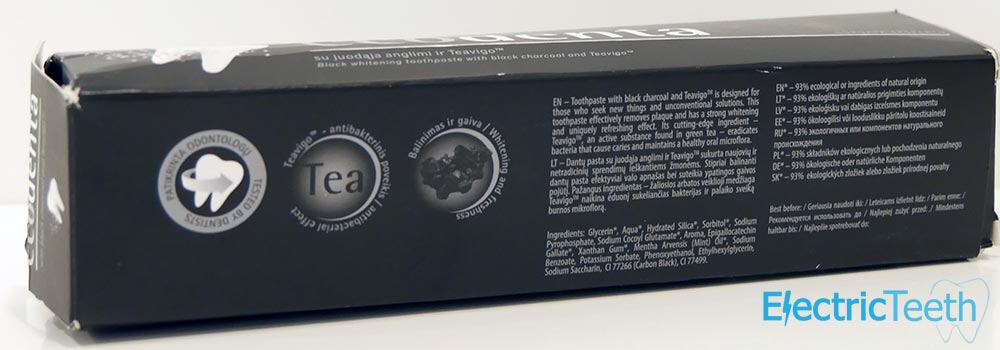 c01a296e0e0 Ecodenta Black Whitening Toothpaste Review - Electric Teeth