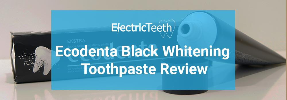 Ecodenta Black Whitening Toothpaste Review 1