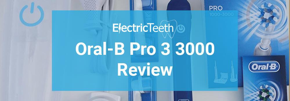 Oral-B Pro 3 3000 Review 1