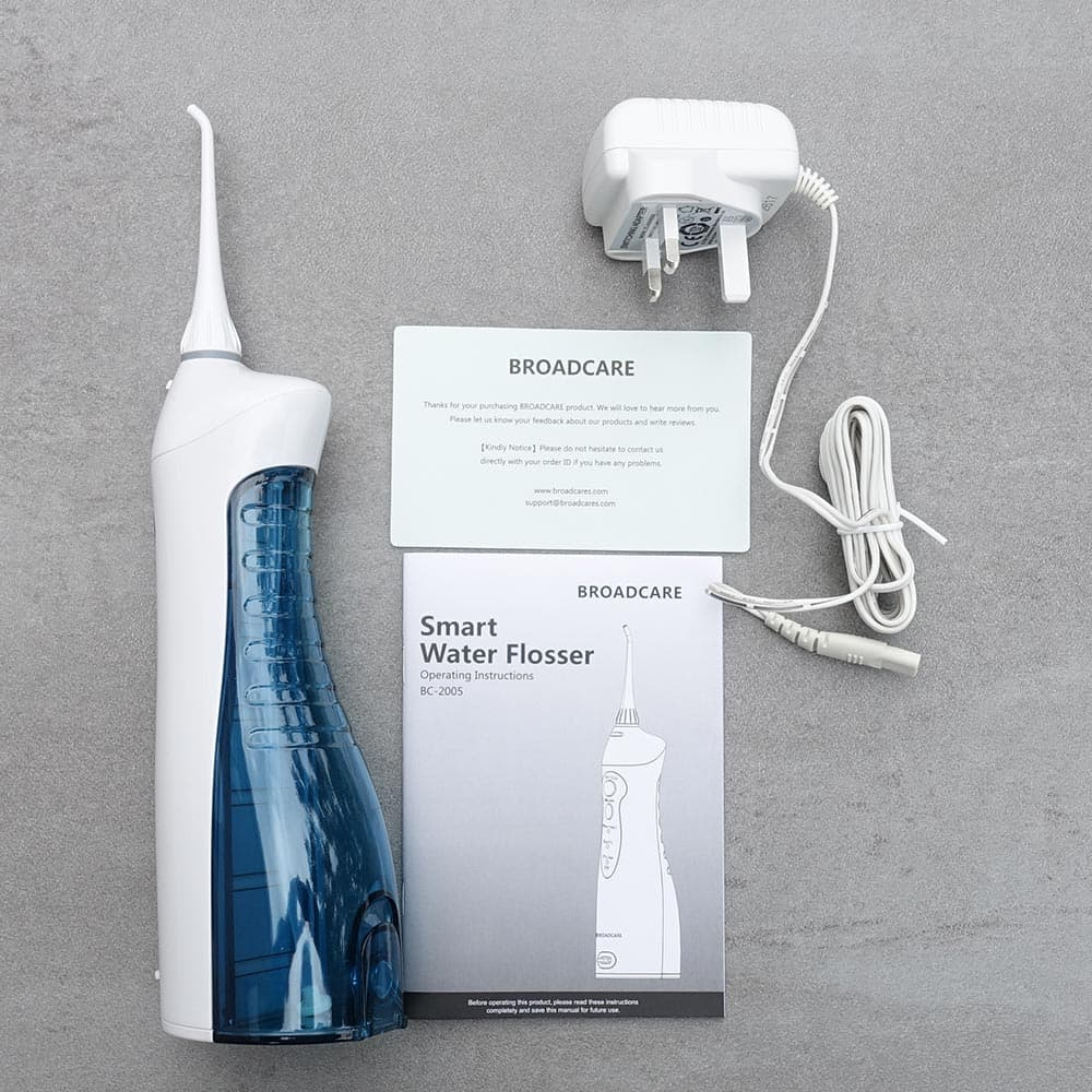 broadcare cordless water flosser review electric teeth. Black Bedroom Furniture Sets. Home Design Ideas