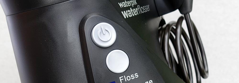 How to clean a water flosser 1