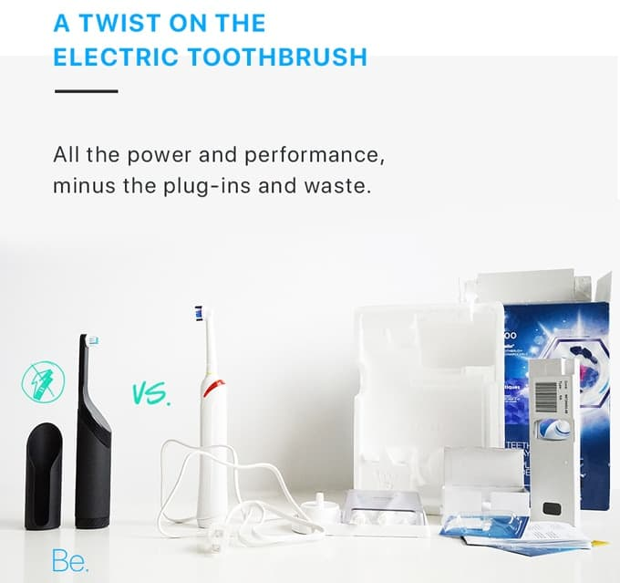 Be - A battery free powered toothbrush 4