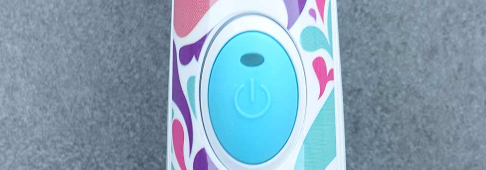 Sonicare For Kids Close Up Of Power Button
