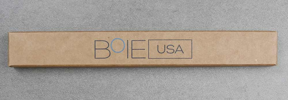 Boie toothbrush packaging