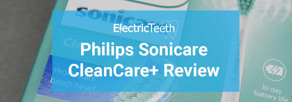 Philips Sonicare CleanCare+ Review 16
