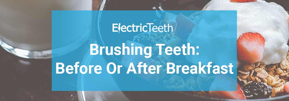 Do i use mouthwash before or after brushing teeth