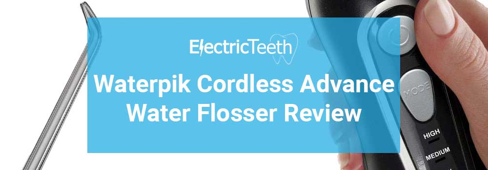 Waterpik Cordless Advanced WP-560 Review 5